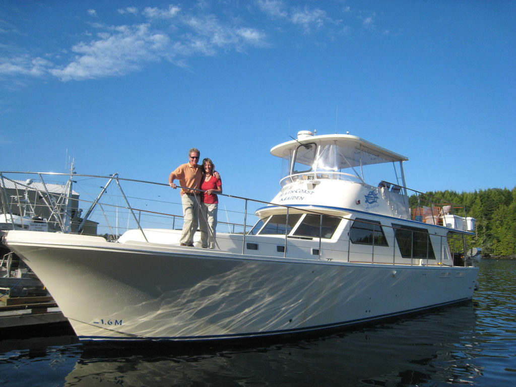Picture of  Alan and Toddy over at Archipelago Cruises